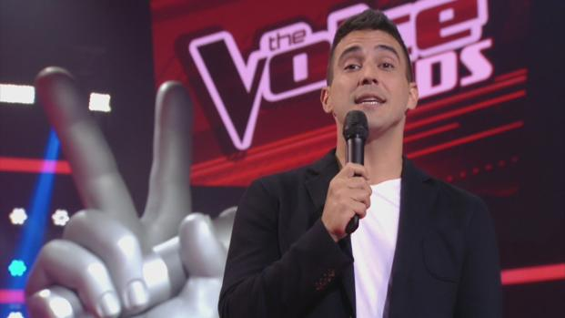 """Durante final do """"The Voice Kids"""", André Marques se emociona e faz revelação"""