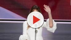 Las razones por las que siempre verás a Melania Trump con la boca abierta