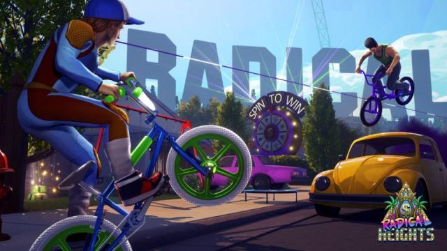 'Fortnite' con el nuevo juego Free Battle Royale, 'Radical Heights'