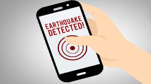 Cómo supo una aplicación que un terremoto estaba golpeando