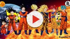 Dragon Ball Super: las diferentes versiones de Goku en comparación