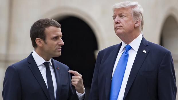 Macron tiene pruebas sobre el ataque en Siria