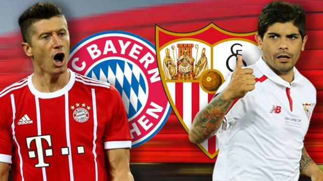 Alineaciones probables , Predicciones y Tácticas del Bayer munich vs Sevilla