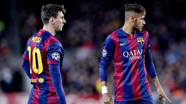 El enigmático mensaje de Neymar con Messi