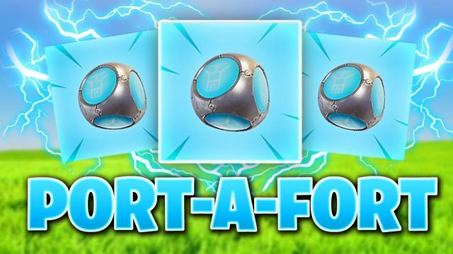 Port-a-Forts llegarán pronto a 'Fortnite: Battle Royale'