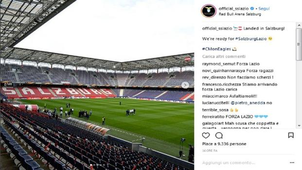 Europa League: la Lazio spazzata via dal Salisburgo