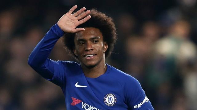 Noticias de transferencia: Willian contento con Chelsea