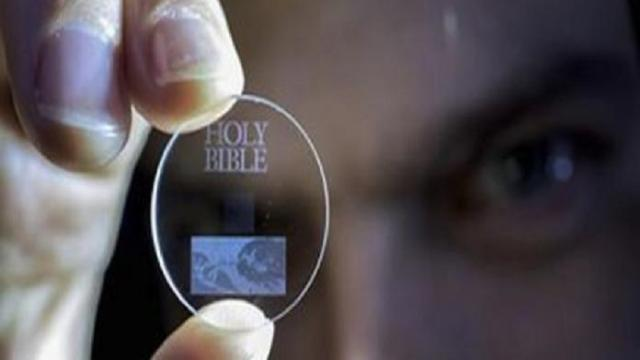 La película de memoria holográfica más delgada podría almacenar 1,000 DVD's