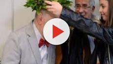 Macerata, si laurea a 82 anni: 'Per mia moglie'