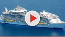 Royal Caribbean's cruiser: the largest ship in the world