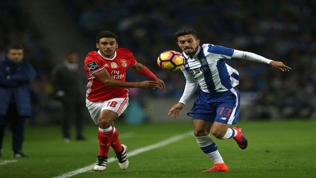 Benfica y FC Porto se enfrentan