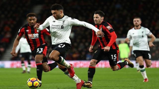 Posibles alineaciones del Liverpool contra Bournemouth