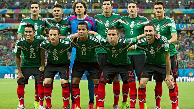 Los jugadores de México se conectan