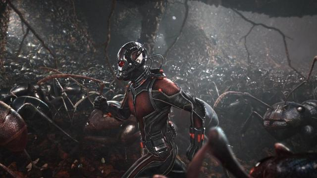 Ecenas donde Ant-Man salga en Avengers: Infinity War