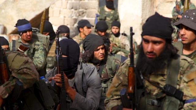 Los ataques de EUA, Francia y Reino Unido a Siria