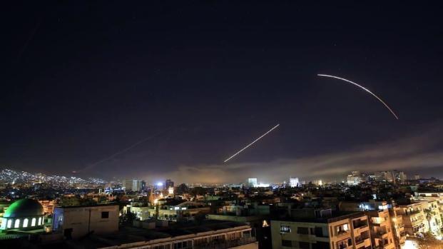 Vídeo: Como fue el ataque a Siria