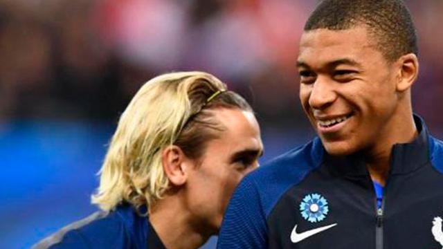 Mbappé dejaría el PSG | Griezmann traicionaría al FC Barcerlona