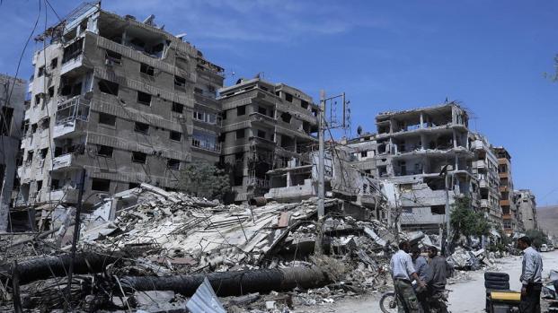 Siria, russi scoprono deposito chimico a Douma ed accusano i ribelli