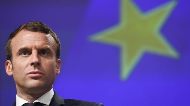 Emmanuel Macron défend l'Europe au Parlement de Strasbourg