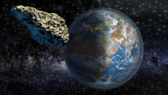 Asteroide paso a 50 metros cerca de la Tierra
