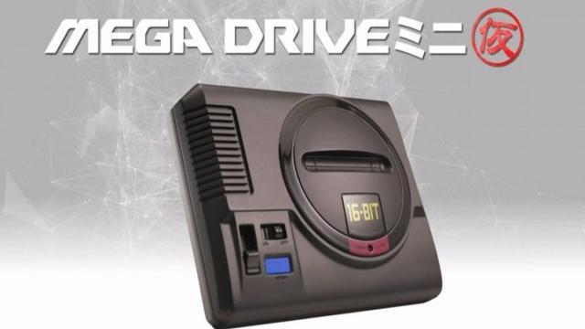 Sega lanza una mini consola