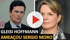 Gleisi 'ataca' Sérgio Moro e Globo e pode se complicar ao incitar mundo árabe