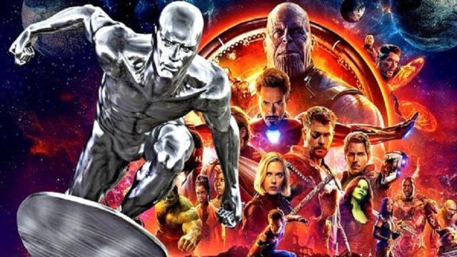 ¿Silver Surfer tendrá algo que ver en Avengers: Infinity War?