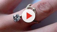 Las perforaciones sustituyen los anillos de bodas