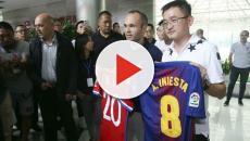 VIDEO: ¡El club chino que ha elegido Iniesta!