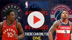 NBA playoff: Raptors vs Wizards