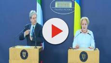 Paolo Gentiloni in visita a Bucarest: relazioni Italia-Romania più forti