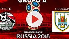 Uruguay se enfrenta con egipto preparandose para ganar