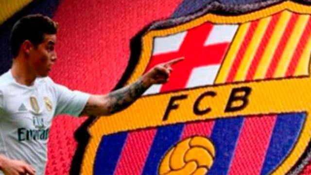 James Rodríguez podría cumplir su sueño en el FC Barcelona