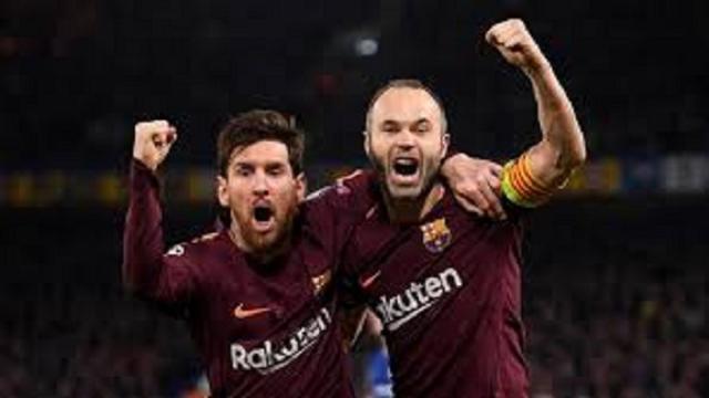 ¿Cuantos títulos han ganado Messi e Iniesta con el Barcelona?