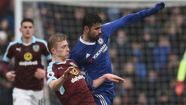 El Chelsea tuvo un sorprendente victoria sobre Burnley