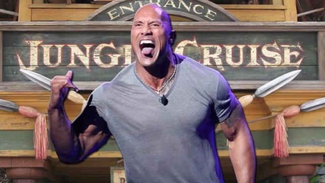 Lo que va a ser la película Jungle Cruise de Dwayne Johnson