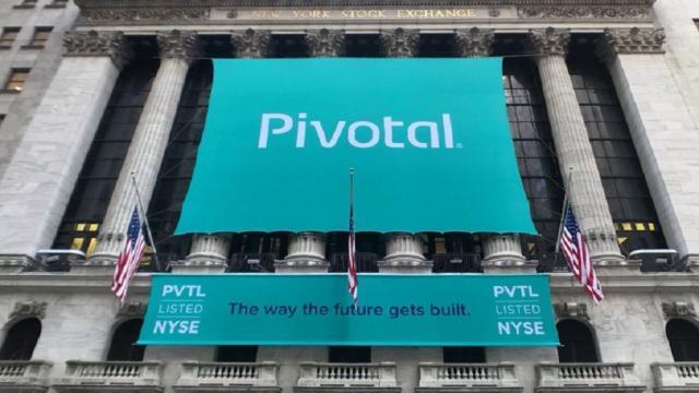 Pivotal Software cerró con un 5%
