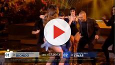 Eliminato Amici 2018, Maradona balla con Belen Rodriguez