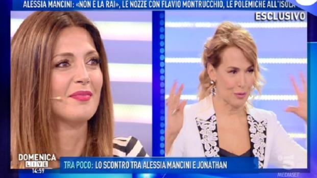 Gossip, Domenica LIVE: Barbara D'Urso 'umilia' Alessia Mancini in diretta