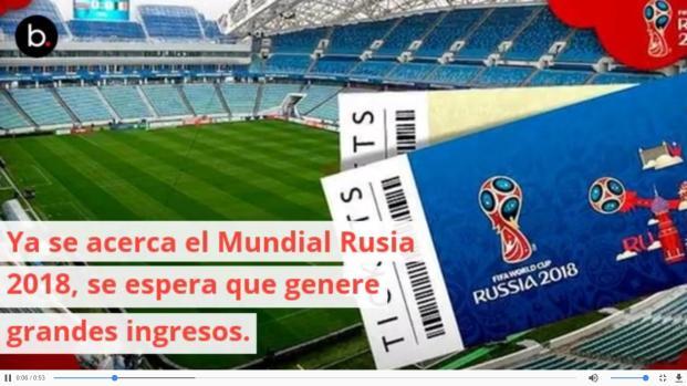 Prepárate para el Mundial Rusia 2018