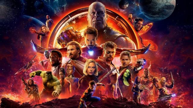 Avengers Infinity War va a ser la segunda película mas cara de la historia