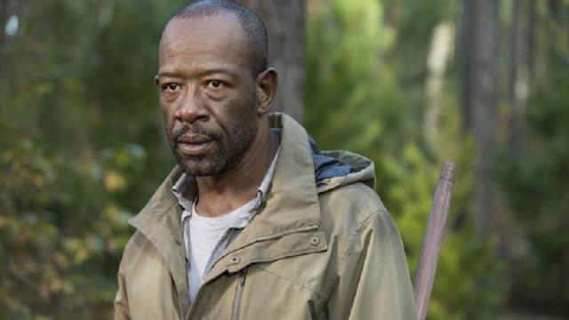 Mira cómo Morgan, resultó ser un vagabundo entre las dos series.