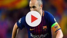Andrés Iniesta podría decir adiós al FC Barcelona al final de la temporada