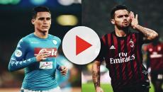 Milan-Napoli: Suso e Callejón, 'scambio di ali'