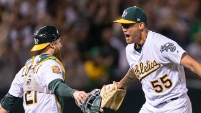 Manaea y los Athletics le quitan racha a Boston, con un sin hit ni carrera