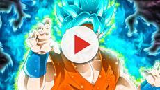 Goku vs Wiss entrenan para combatir