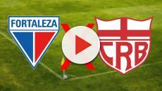 Fortaleza x CRB: transmissão da partida ao vivo na TV e internet, veja