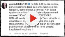 Giulia De Lellis: lo sfogo social