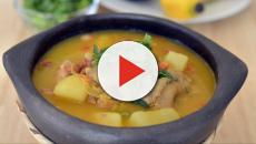 Sopa de pollo rápida y fácil para la caída