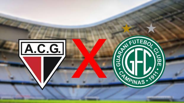 Atlético-GO x Guarani: transmissão do jogo ao vivo na TV e online, veja
